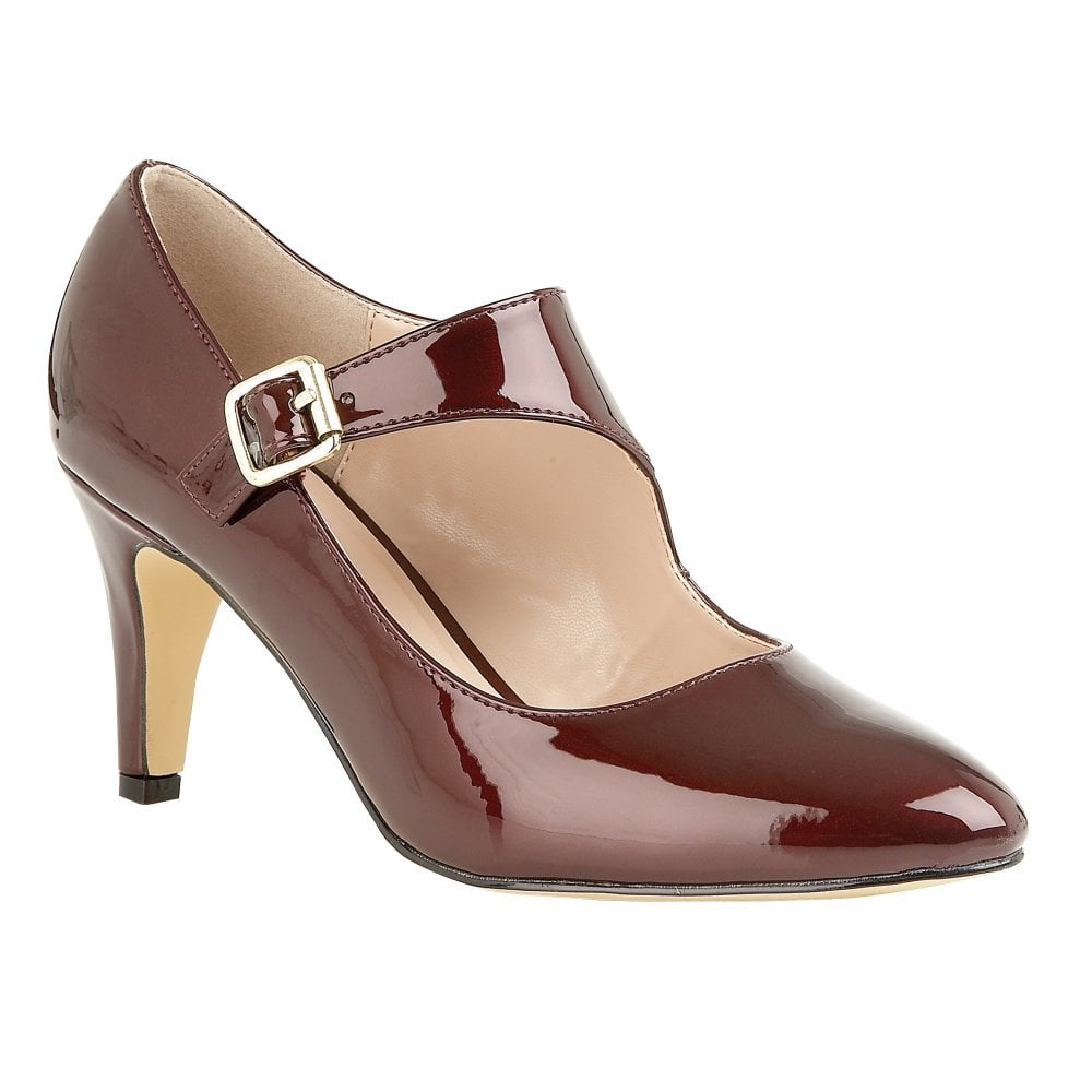 abb6a177e57 Berry Laurana Patent Court Shoes | Lotus