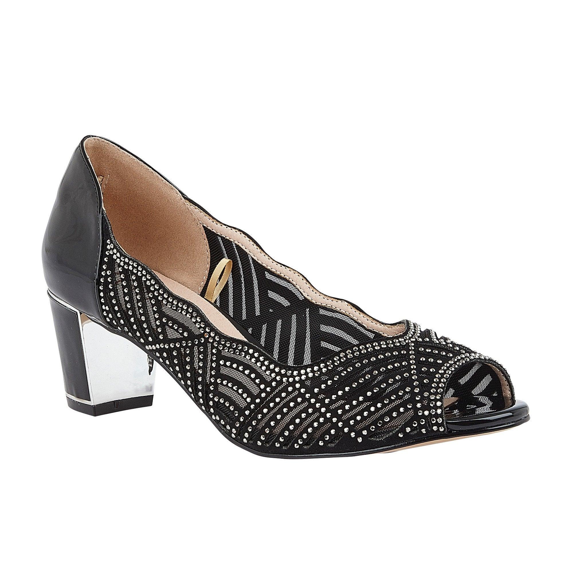 Lotus ladies' Immy peep toe shoes