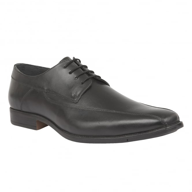Black Holgate Leather Lace-Up Shoes | Lotus
