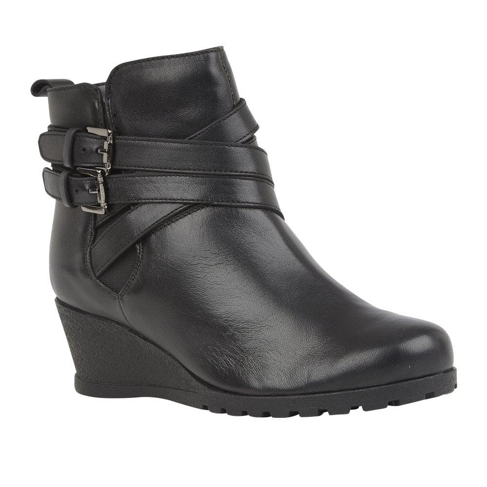 Buy the Lotus ladies' Farrow ankle boot