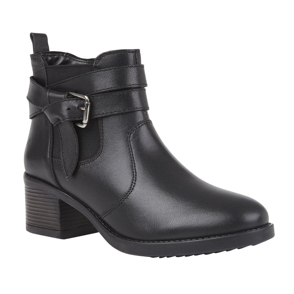 Buy the Lotus ladies' Janet ankle boot
