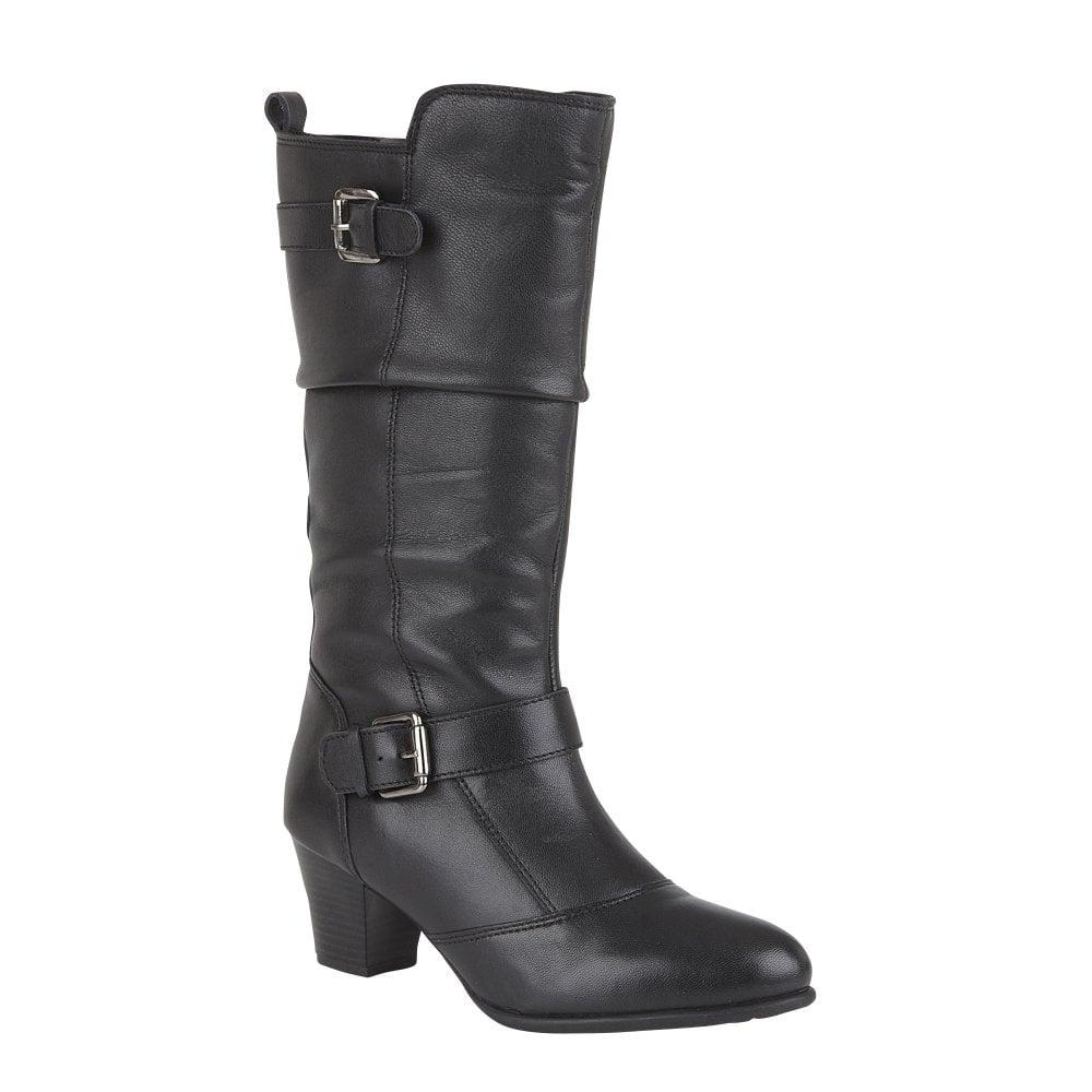 Lotus ladies' Miriam mid-calf boot