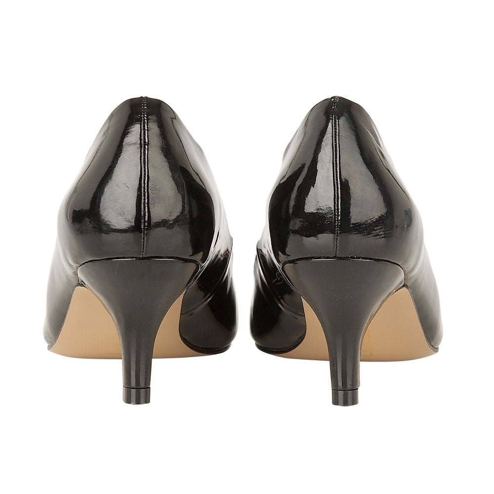 4161169e50f Buy the black patent Lotus ladies  Bess court shoe online
