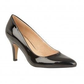 Black Patent Holly Court Shoes  73b5cebc21