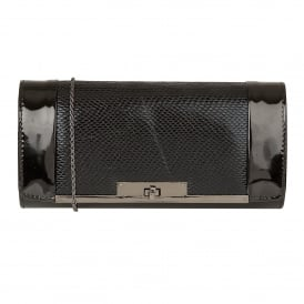 Black Zonda Clutch Bag | Lotus