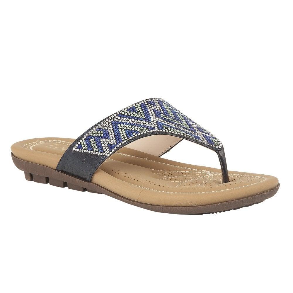 c3d1e5fe1 Buy the blue Lotus ladies  Patti sandal online