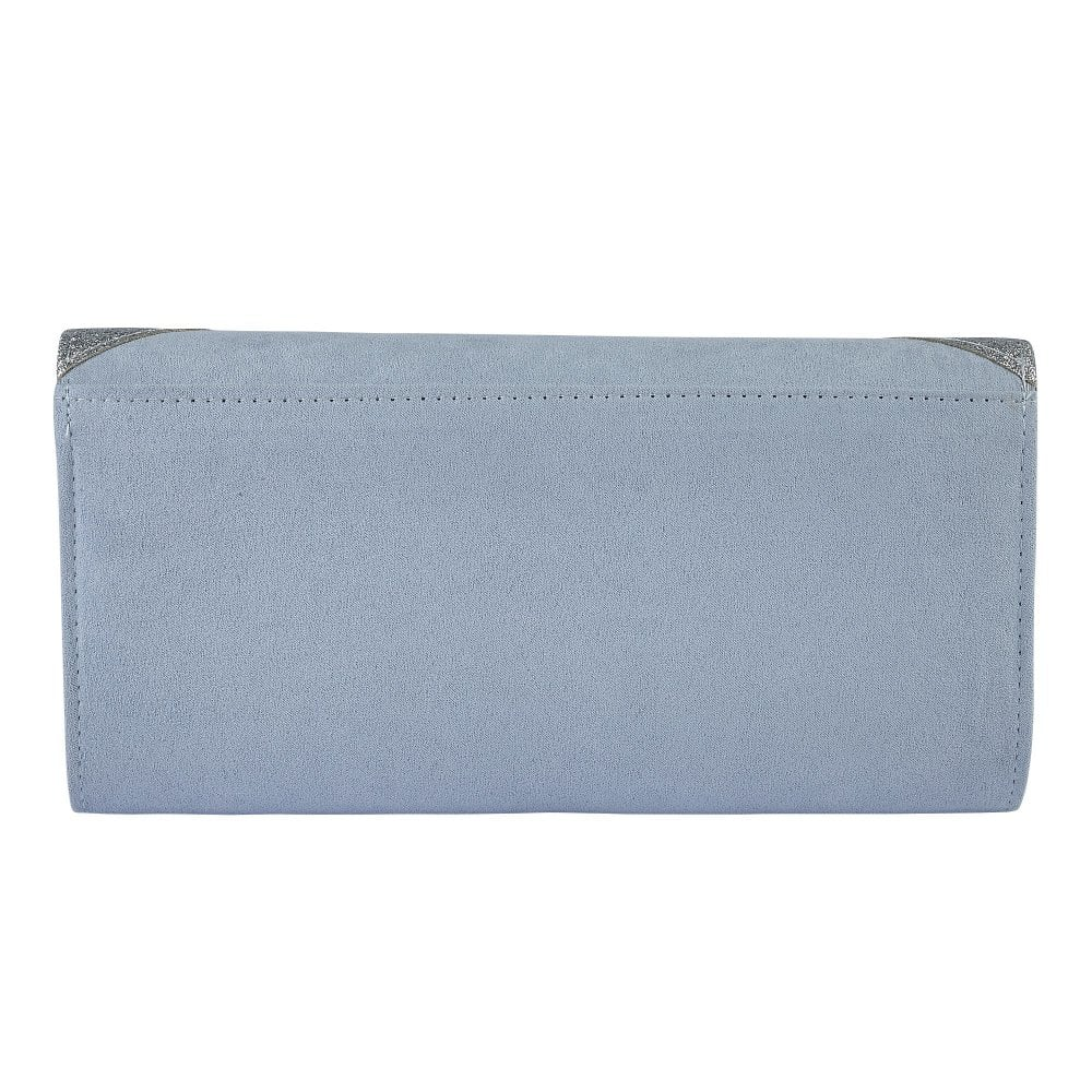 871bbcc59 Buy the blue & silver Lotus Fidda clutch bag online