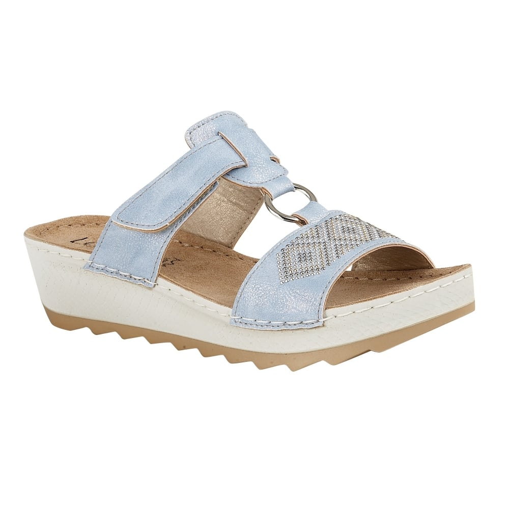 Womens Trezzini Open-Toe Sandals Lotus MaxuYn