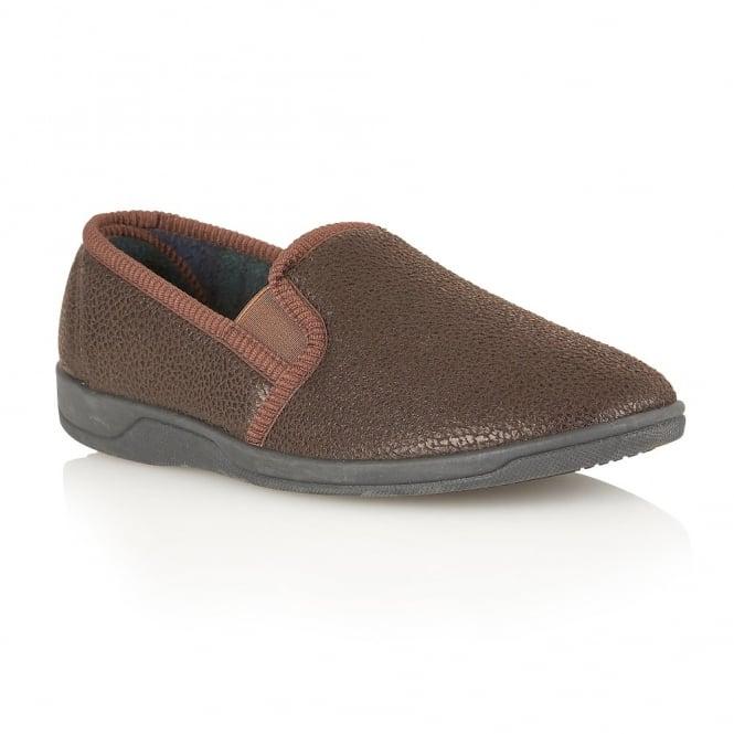 434080cc4895 Buy Lotus men s Ashfirth brown slippers online