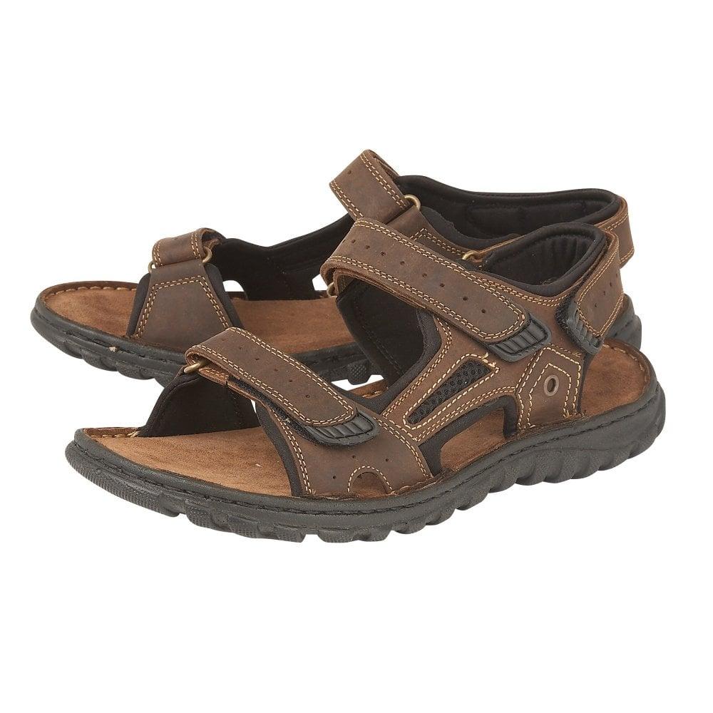 Douglas leather raft sandal