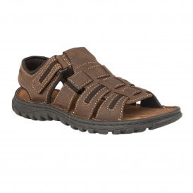 a681da218a06 Brown Doyle Velcro Sandals