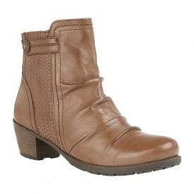 43ce3b8f414c Brown Frazetta Leather Heeled Ankle Boots