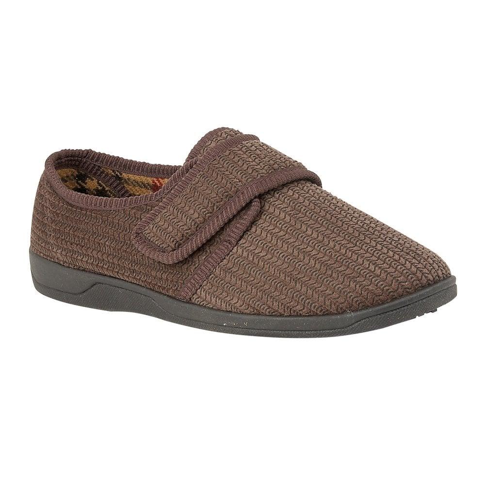 657d2163f638 Buy the Lotus men s Mcgrath full shoe slipper in brown online