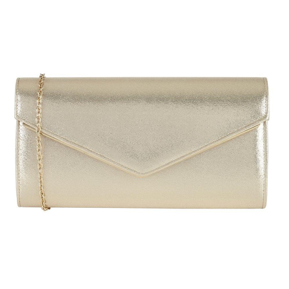 f56813a79 Buy the gold metallic Lotus Nina clutch bag online.