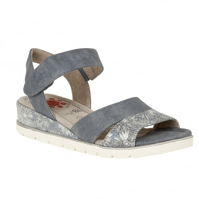 Jeans Florated Giannone Velcro Sandals | Lotus Relife