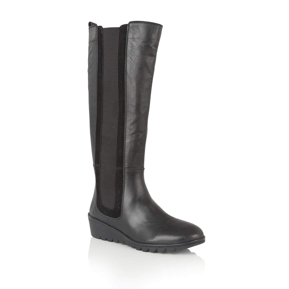 lotus alona leather knee high boots boots from lotus