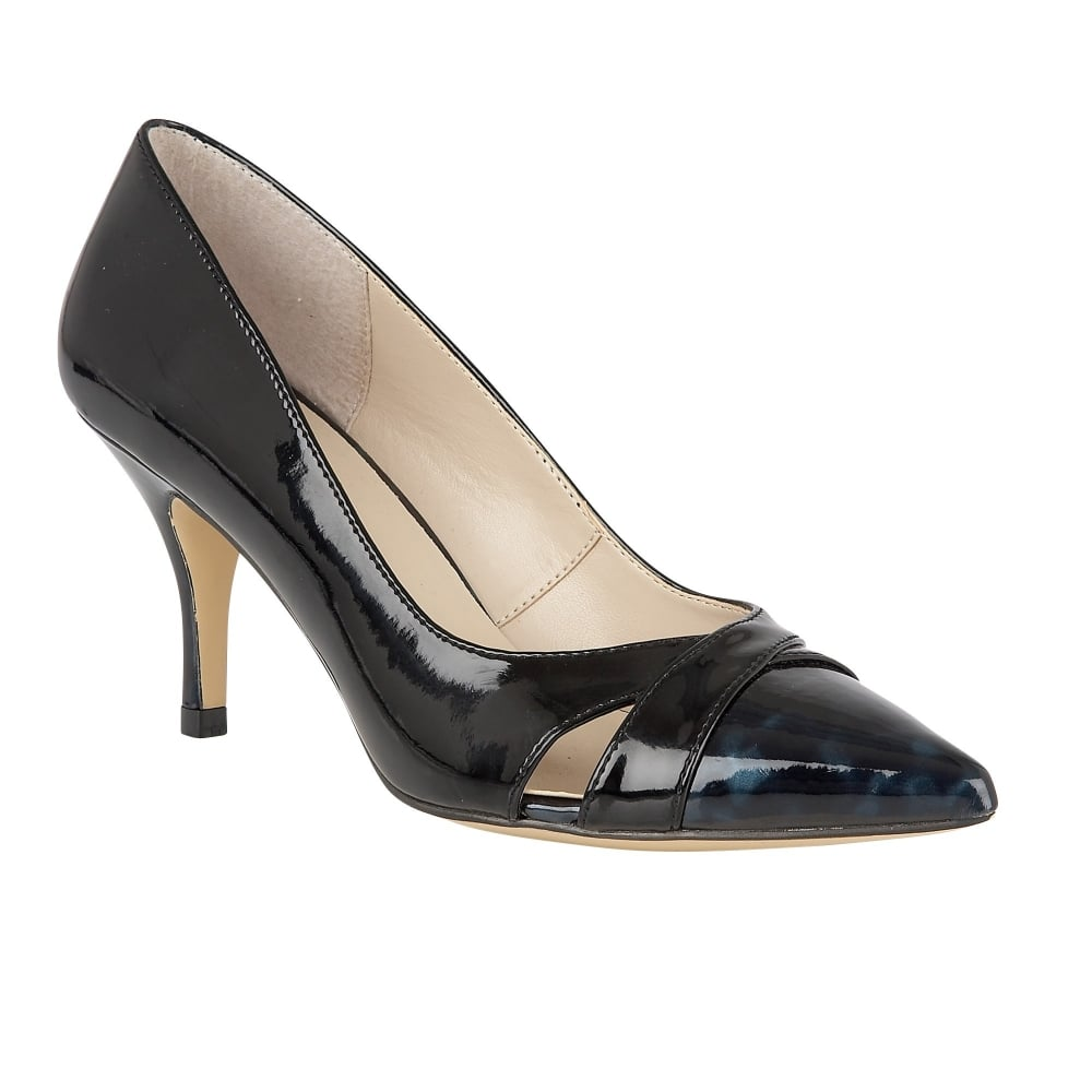 Lotus Navy Court Shoes