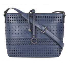 Houston Navy Shoulder Bag