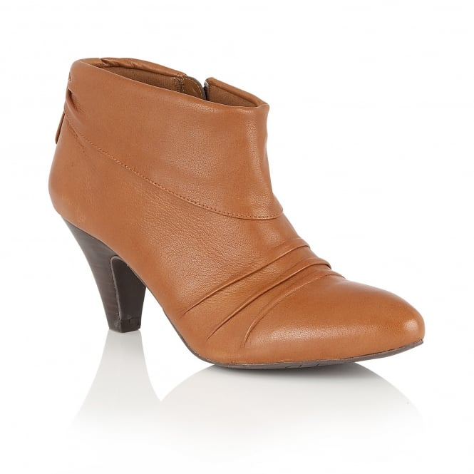 Lotus Hickory Tan Leather Shoe-Boots
