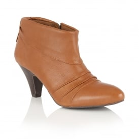 Hickory Tan Leather Shoe-Boots