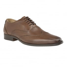 Men's Bishop Brown Leather Brogues
