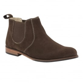 Men's Bradford Brown Suede Ankle Boots