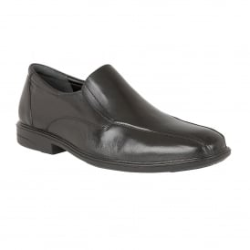 Men's Chiltern Black Leather Loafers