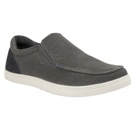 Men's Crossley Grey Slip-On Shoes