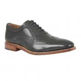 Men's Harry Black Leather Goodyear Welted Shoes