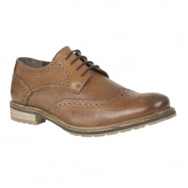 Men's Hatch Brown Leather Brogues