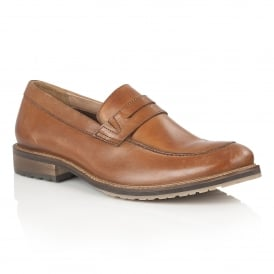 Men's Jensen Tan Leather Loafers