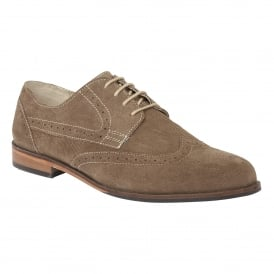 Men's Larkin Sand Suede Brogues