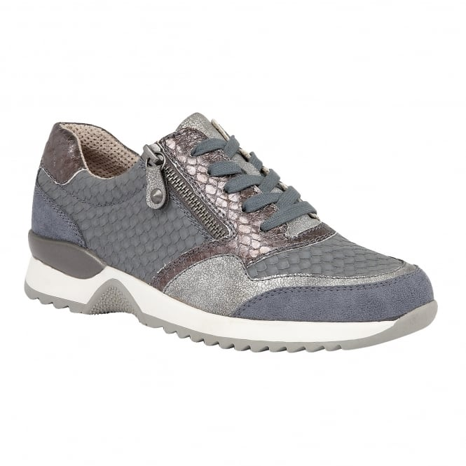 Lotus Relife Golda Jeans Multi Lace-Up Shoes