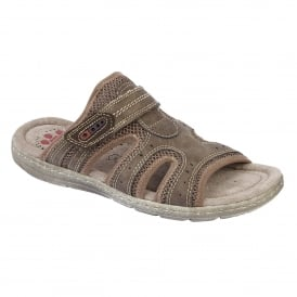 Men's Ellsworth Brown Mule Sandals
