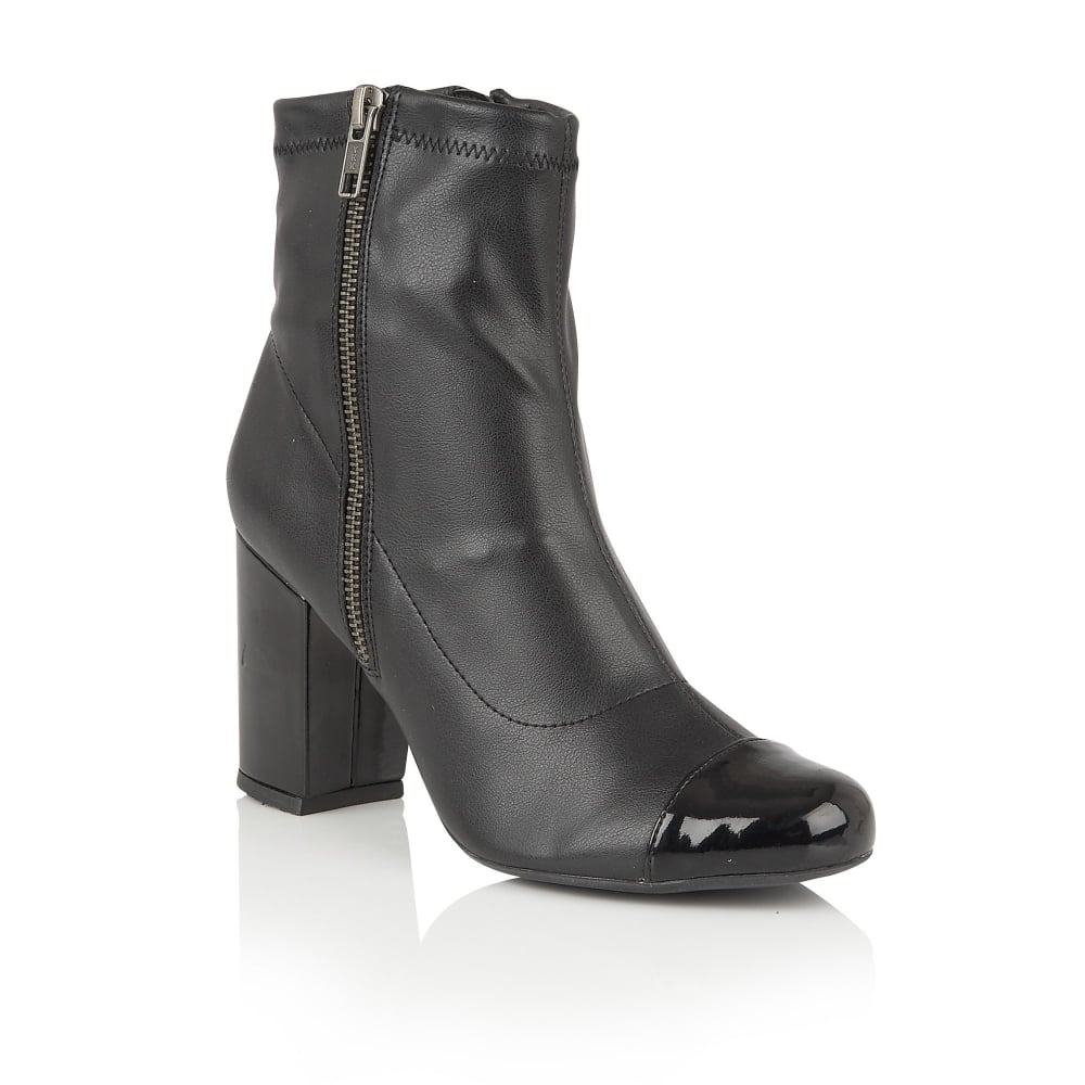 lotus sitka black stretch ankle boots boots from lotus