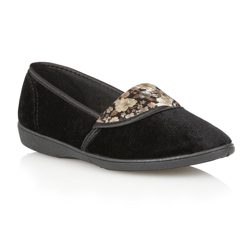 Velvet Slipper Shoes Uk