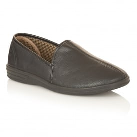 Men's Headley Black Slipper Shoes