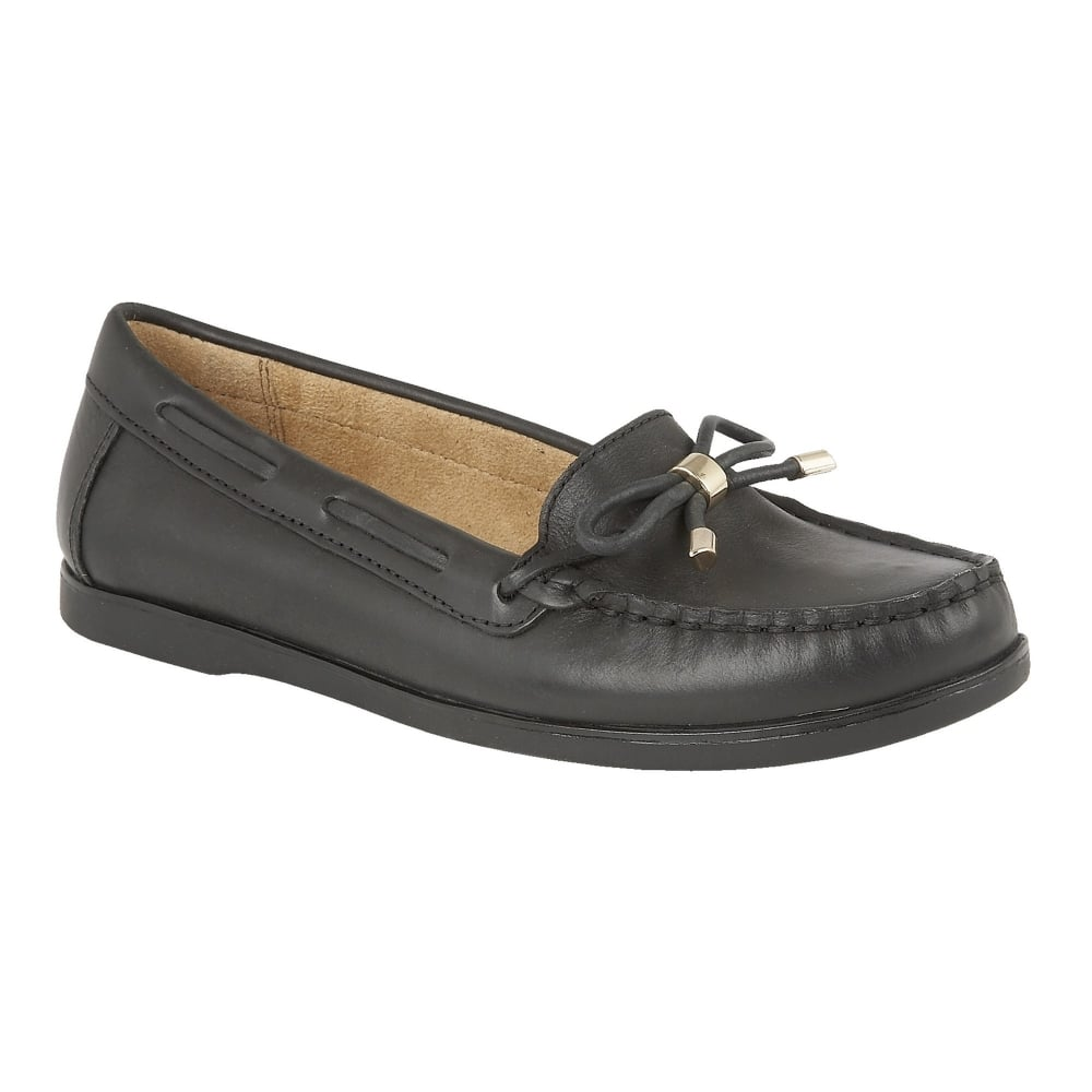 naturalizer shoes hadlie black leather loafers shoes