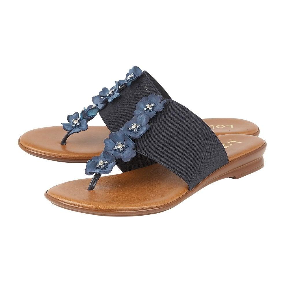 e59b7c343 Buy the navy Lotus ladies  Alicia sandal online