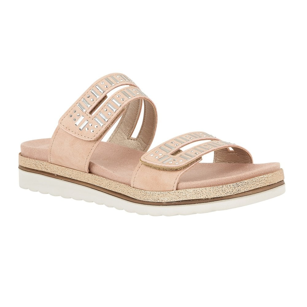 b31a7ac08c4e Buy the pink Lotus ladies  Halley sandal online