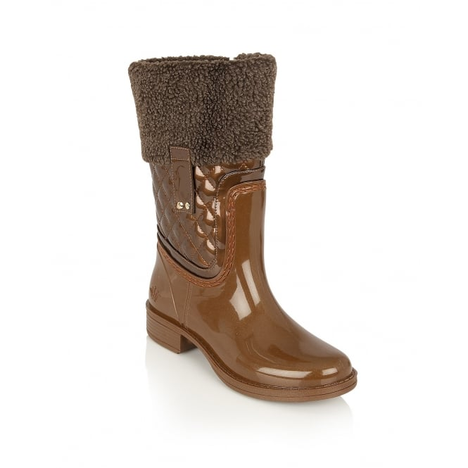 Posh Wellies Colemanite Bronze Mid-Calf Boots