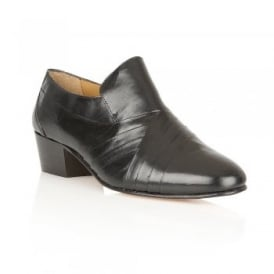 Men's Carnaby Black Leather Slip-On Shoes