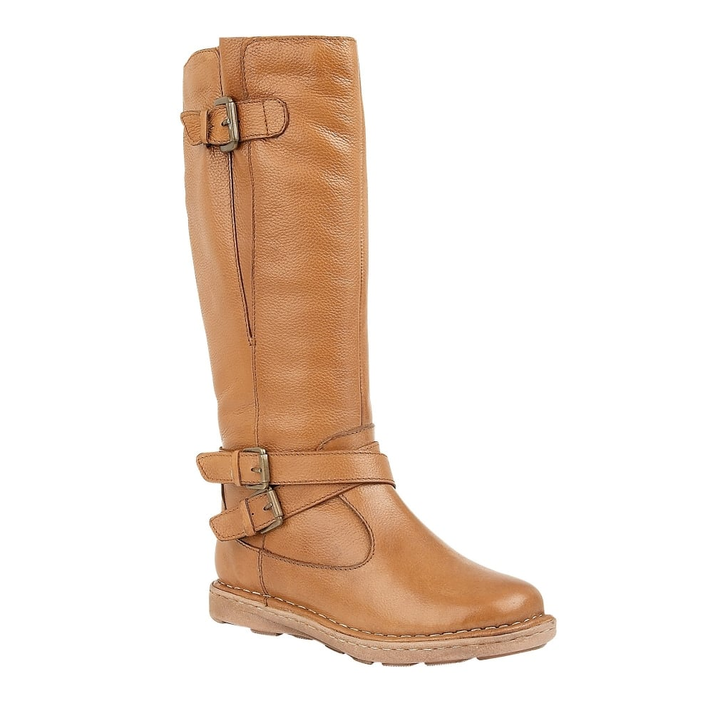 f4bcd8773e6 Buy the Lotus ladies  Arlo knee high boot in tan online
