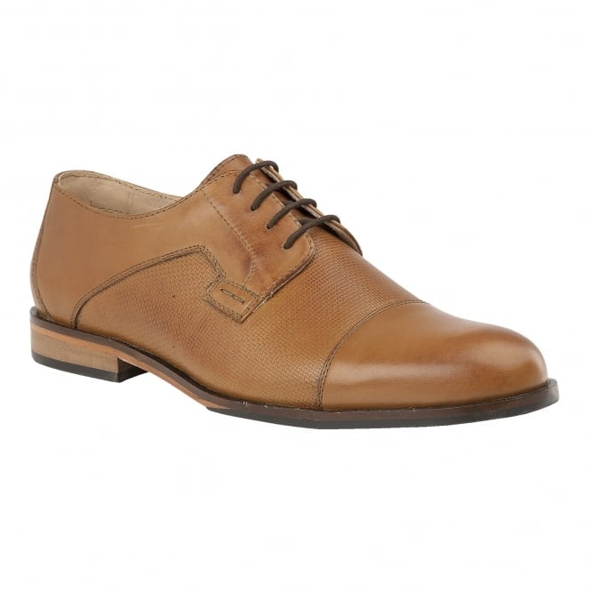 Tan Thorpe Leather Lace-Up Shoes | Lotus