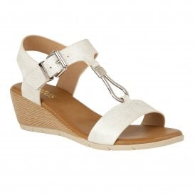 31b249524ef9 White Ginny Wedge Open-Toe Sandals