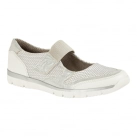 White Harpulla Velcro Trainers | Lotus Relife