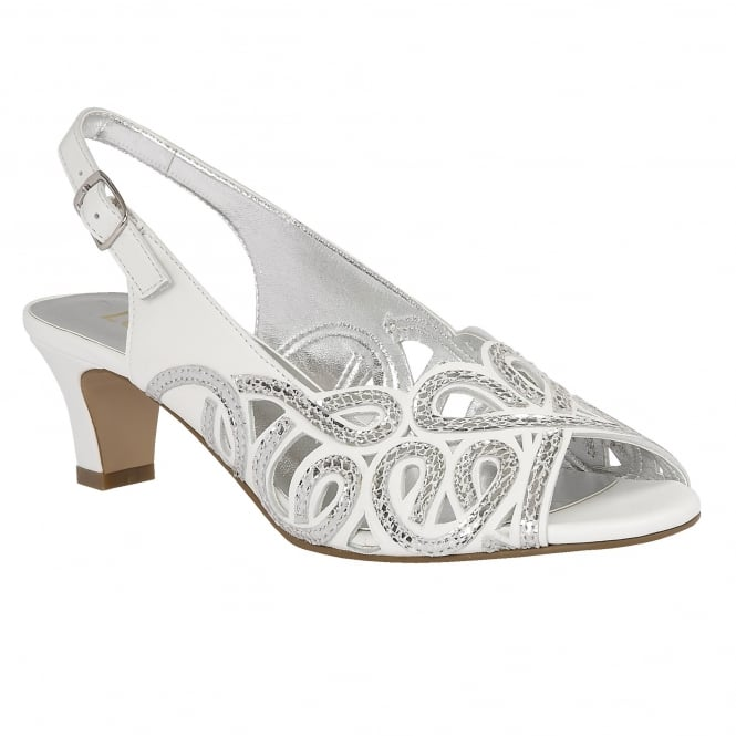 White Snake Printed Harper Leather Sandals | Lotus